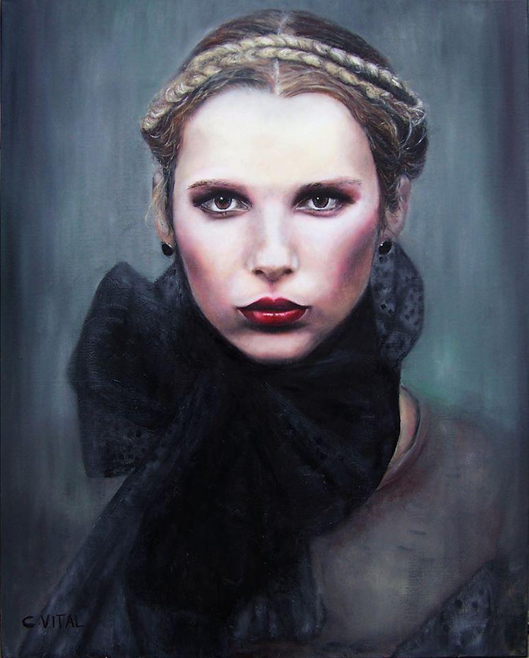 Portrait par Claudie Vital ©