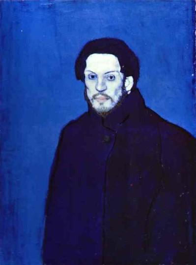 Picasso Autoportrait Bleu - 1901