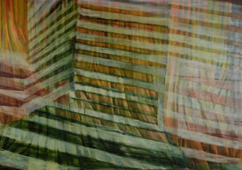 Huile sur toile 120 × 170 cm