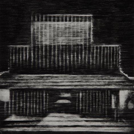 Graphite sur papier 40 × 40 cm