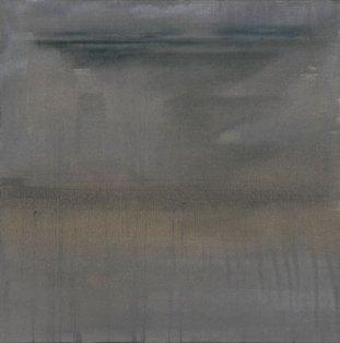 Acrylique et huile sur toile 70 × 70 cm