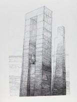 Encre sur papier 56 × 76 cm