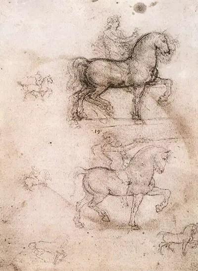Trivulzio Monument Leonardo da Vinci