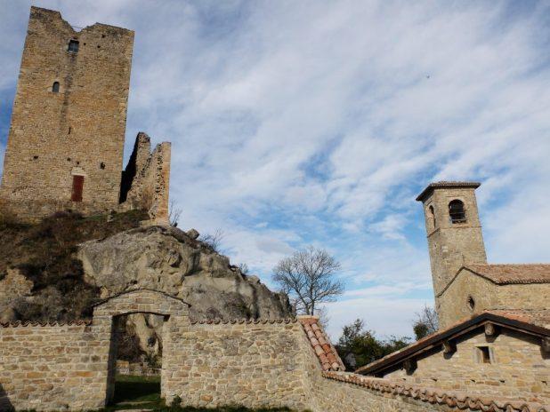 Tetto giardino castello delle Carpinete