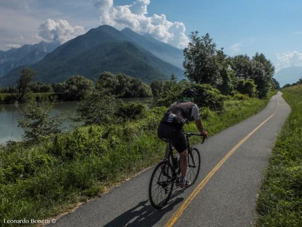 Il sentiero Valtellina a Colico
