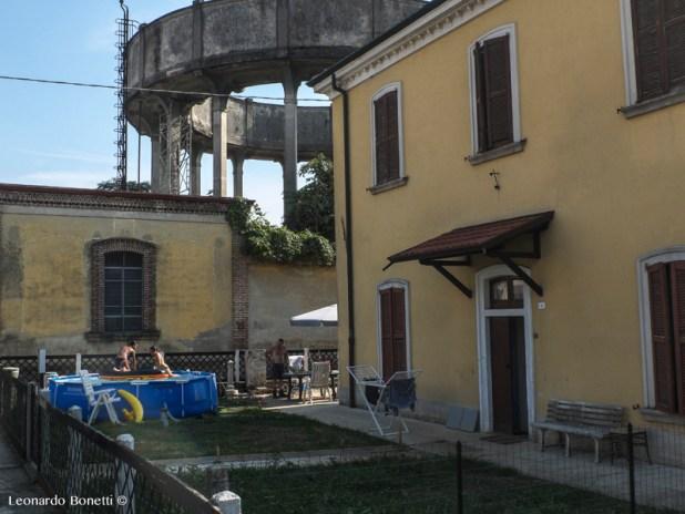 Modulo abitativo nel villaggio operaio di Crespi d'Adda
