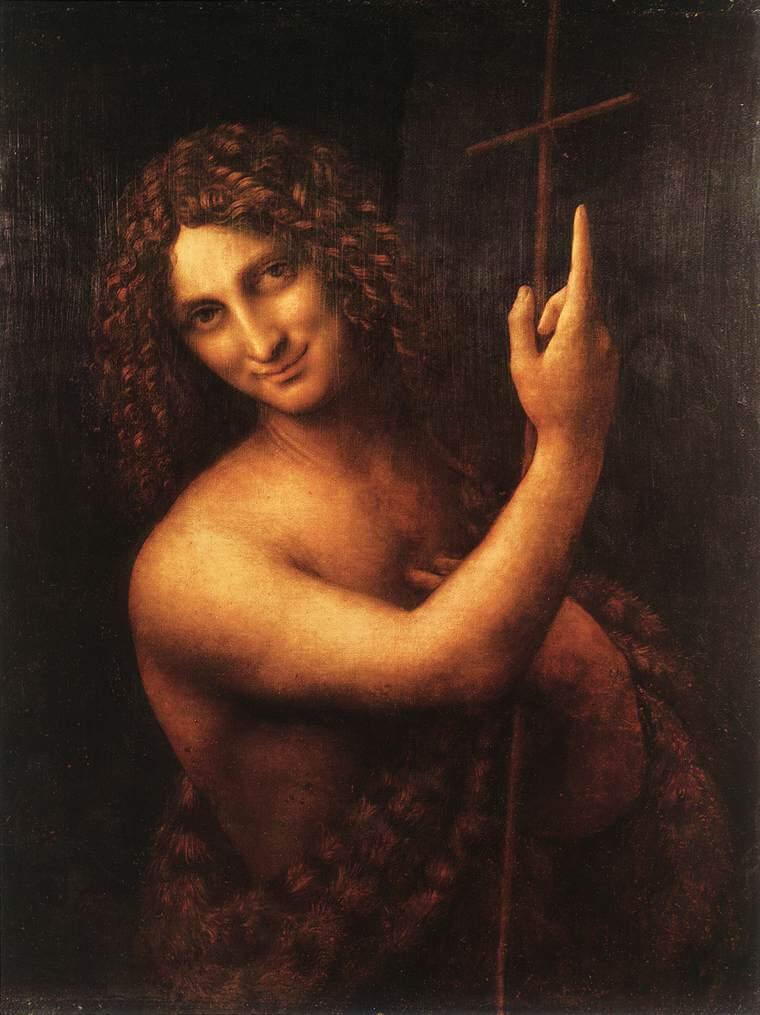 Leonardo da Vinči - Page 4 St-john-the-baptist