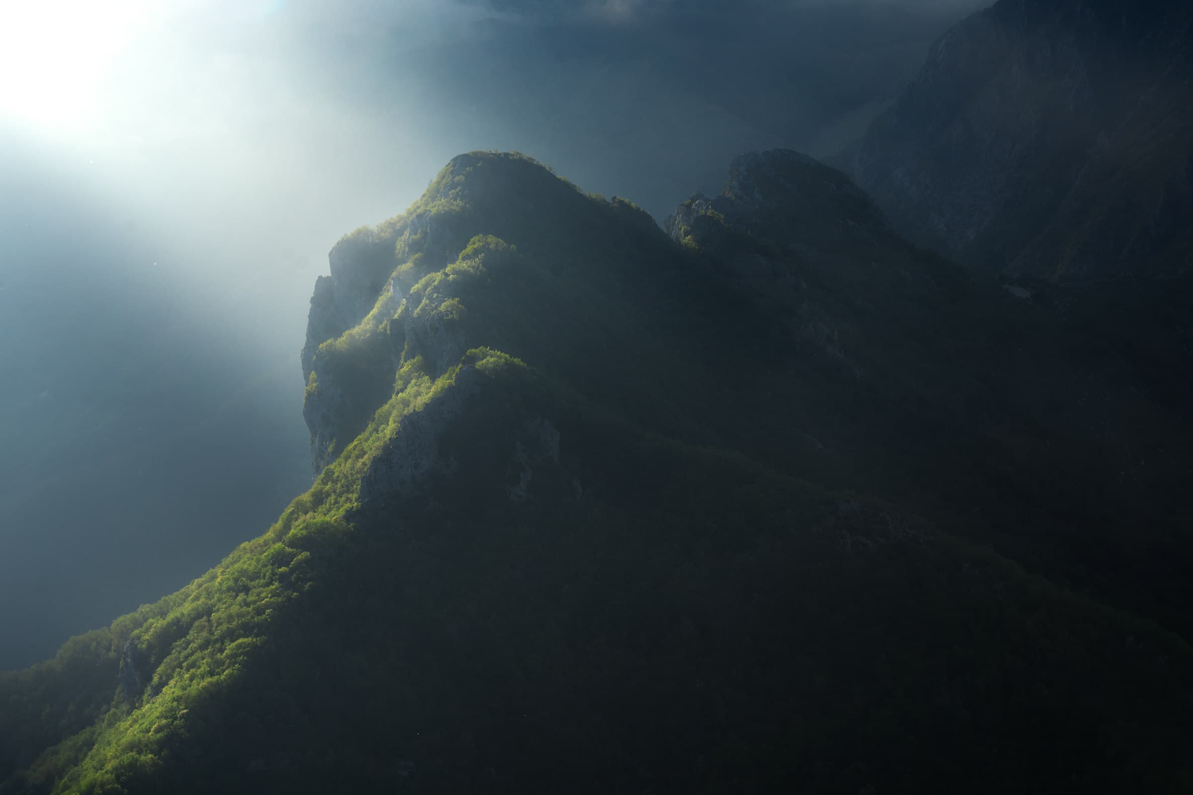 monte croce alpi apuane