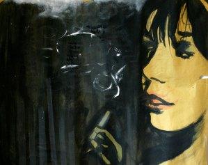 Leonardo Spina, Bologna, 2009 Acrilyc on paper, 70 x 100 cm