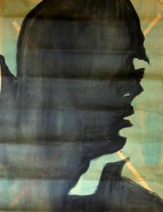 Leonardo Spina, Ernesto, 2009 Acrilyc on paper, 70 x 100 cm