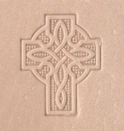 Celtic cross stamp (Can be gold-stamped.)