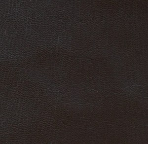 Dark brown soft-tanned goatskin