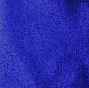Electric blue soft-tanned goatskin