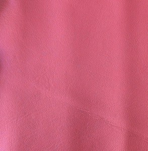 Pink soft-tanned goatskin
