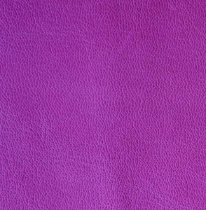 Purple soft-tanned goatskin