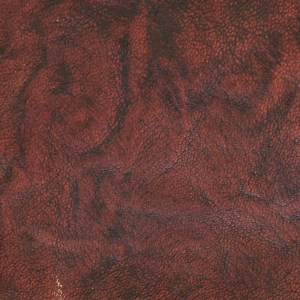 Spindled rustic goatskin, hand-dyed and antiqued to a saddle tan finish
