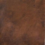 Smooth grain English calfskin, hand-dyed and antiqued to a tan finish