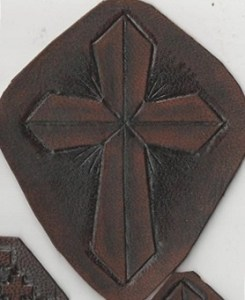 Tooled cross 4