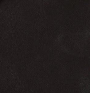 Thicker, very dark brown soft-tanned goatskin