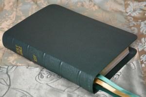 Forst River Grain Goatskin Bible