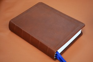Brown Smooth Calfskin Bible