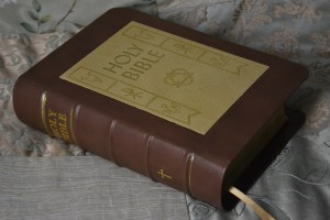 50s Family Bible with Embedding