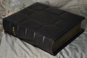 Custom Family Bible in English Calfskin