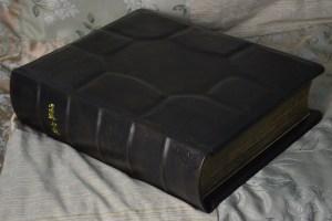 Custom Family Bible in English Calfskin