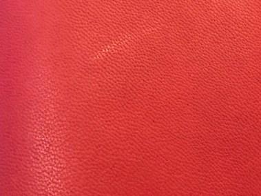 Red Smooth Goatskin