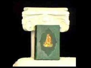 Sample of Inlaid Binding, Rebinding from Leonard's Book Restoration Station