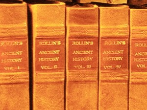 New Spines on an old antique set