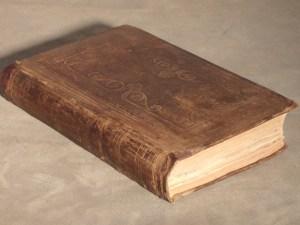 Rare Cloth Book After Restoration