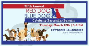 Red Dog Blue Dog Event poster