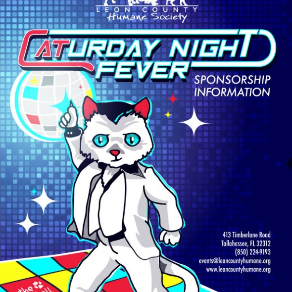 Fur Ball: caturday Night Fever Cover