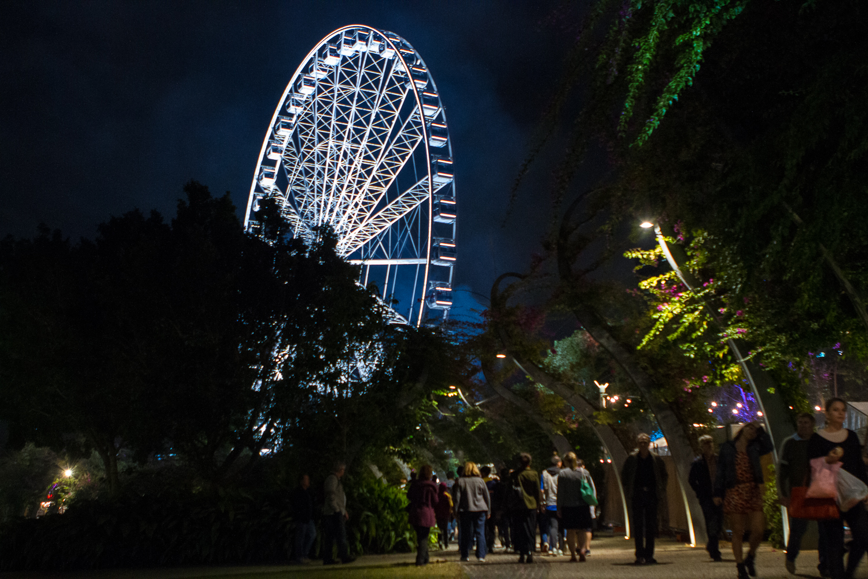 South Bank Ferris Wheel in Brisbane, Queensland