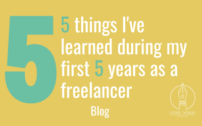 Five things I've learnt in my first five years a freelancer