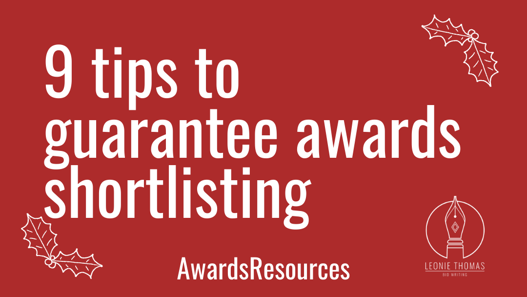 blog header_9 tips to guarantee awards shortlisting