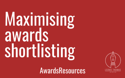 Maximising awards shortlistings