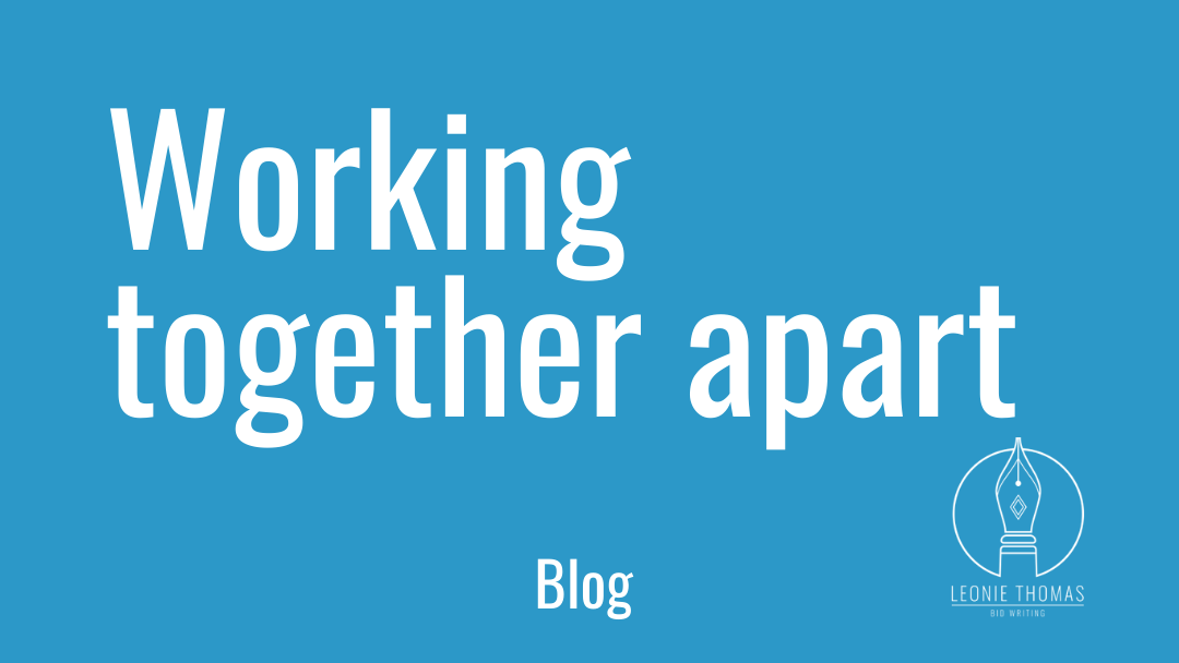 Working together apart