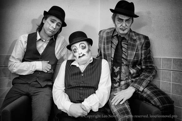 The Tiger Lillies Musician Portrait Paris