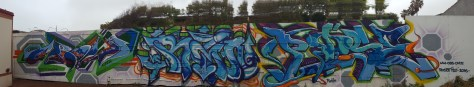 Finished Burner Wall Crow, Rain, Pose