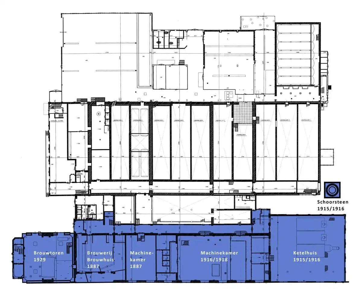 Brouwhuis bouwgeschiedenis