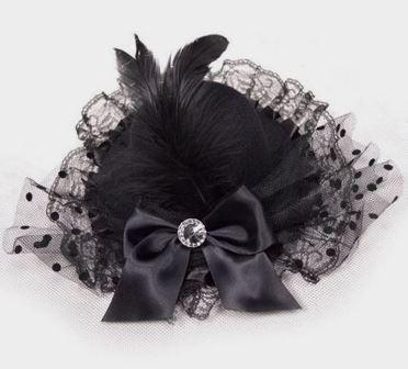 Black Burlesque Mini Top