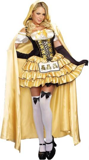 adult womens goldilocks costume