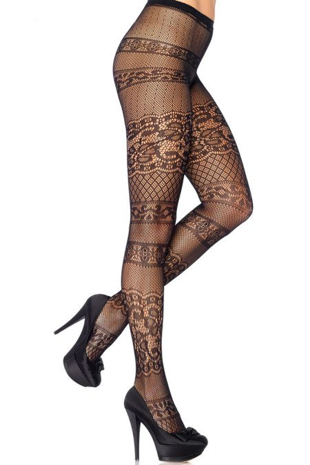 Antique Lace Pantyhose