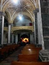 Interior de la Iglesia de San Andrés. Mixquic