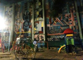 Mural en Tlatelolco
