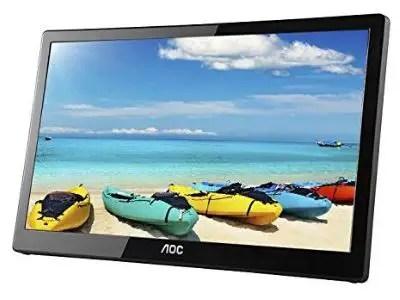 AOC E1659FWUX Portable USB Monitor
