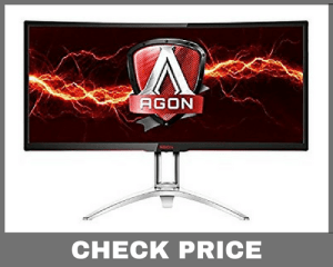 "AOC AGON AG352UCG 35"" Curved Widescreen Monitor"