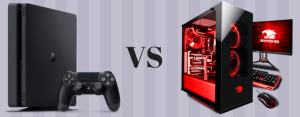 PC gaming vs console gaming infographic